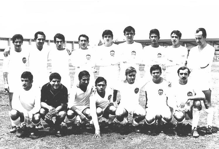 El Valencia mejicano de 1968