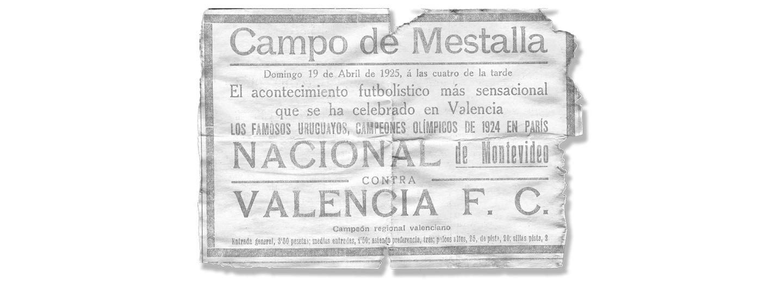 Campeones del mundo en Mestalla